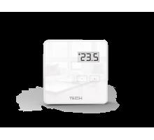 Проводной комнатный двухпозиционный терморегулятор TECH R-9B белый