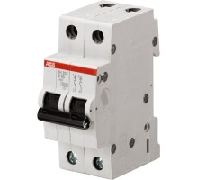 Выключатель автоматический модульный 2п C 25А 4.5кА SH202L ABB 2CDS242001R0254