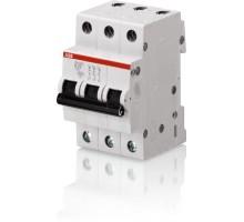 Выключатель автоматический модульный 3п C 10А 4.5кА SH203L ABB 2CDS243001R0104