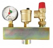 Группа безопасности котла KSG 30/20M-ISO до 100 кВт, подкл. 1ВР, SVH-3 бар, WATTS, 10005204
