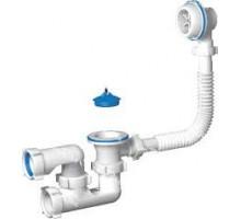 Обвязка для ванны, пластмассовая, плоская,1-1/2 x 40 мм регулируемая АНИ ПЛАСТ