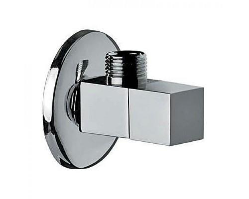 RR Кран угловой для с/т приборов, c керамической кран-буксой 1/2х1/2 хром