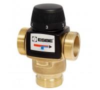 Клапан термостат. VTA572, 20-55 °С, Kvs= 4.5 м³/час, с боковым смешением, 1 HP, ESBE