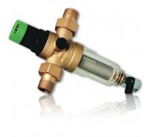 Фильтр промывной 1/2 для ХОЛОДНОЙ воды с регулятором давления Honeywell FK06AA1/2