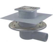 Трап сливной Alca Plast 105/50 APV1324 для душа горизонтальный