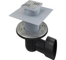 Трап сливной Alca Plast 105/50/75 APV3344 для душа горизонтальный