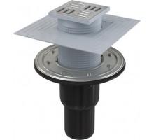 Трап сливной Alca Plast 105/50/75 APV4344 для душа вертикальный