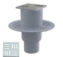 Трап сливной Alca Plast 105/50/75 APV201 для душа вертикальный
