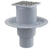 Трап сливной Alca Plast 105/50/75 APV202 для душа вертикальный