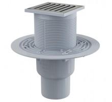Трап сливной Alca Plast 105/50/75 APV203 для душа вертикальный