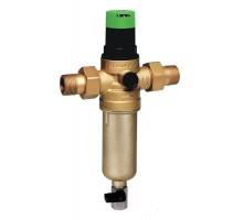 Фильтр промывной комбинированный для ХОЛОДНОЙ и ГОРЯЧЕЙ воды 1/2 с регулятором давления Honeywell FK06AAM1/2