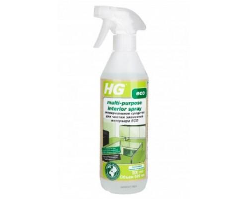 HG ЭКО Средство универсальное для чистки элементов интерьера 0,5 л