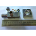 RR Кран угловой для с/т приборов, c керамической кран-буксой 1/2хМ10 хром