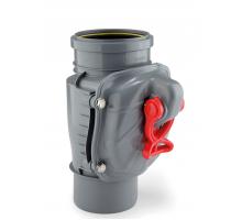 Клапан обратный канализационный Karmat Ø110 ZB110 вертикальный (ZB110PION)