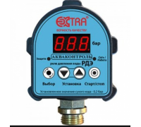 Реле давления воды электронное EXTRA Акваконтроль РДЭ G1/2 (с паролем, точность 5%)