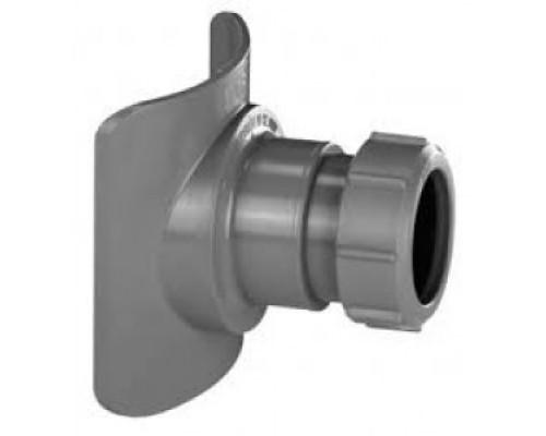 Врезка (адаптер) в канализационную трубу (пластиковая) McALPINE BOSSCONN Ø110х50