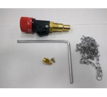 Регулятор тяги Honeywell FR124 для твёрдотопливных котлов