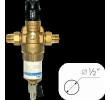 Фильтр промывной 1/2 для ГОРЯЧЕЙ воды с регулятором давления без манометра BWT Protector mini H/R HWS 10560