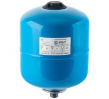 STOUT Расширительный бак, гидроаккумулятор 8 л. вертикальный (цвет синий)