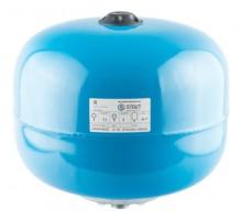 STOUT Расширительный бак, гидроаккумулятор 24 л. вертикальный (цвет синий)