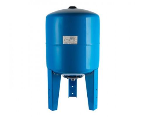 STOUT Расширительный бак, гидроаккумулятор 100 л. вертикальный (цвет синий)