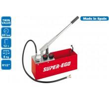 Опрессовочный насос (опрессовщик) ручной 60 бар SUPER-EGO RP50-S