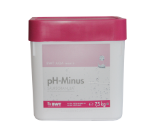 Кислородный гранулят для снижения уровня pH BWT AQA marin pH Minus 7,5 кг 16681