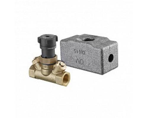 Oventrop Вентиль запорный, Hycocon ATZ, DN-40, 1 1/2, ВВ, PN, бар-16, измерительная техника eco