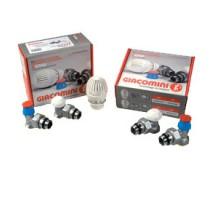 Комплект д/подключения радиаторов Giacomini R470F-KV 3/4 DN-20 В/Н, термор, амер, прямой, ув.проход