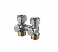 Oventrop Узел, Multiflex V, прямой H-образный, 3/4, 3/4, Н ЕК-НГ, никелированный, ZB