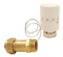 Головка термостатическая с выносным проточным сенсором 20-60 °С, ТСГ ВПС-01