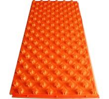 Мат для теплого пола с бобышками Water Floor 22 с покрытием