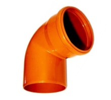 Отвод НПВХ 110 45° SINIKON 20120.R.B
