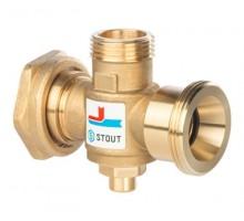 STOUT Термостатический смесительный клапан G 11/2M-G 11/2F-G 1M 60°С