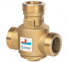 STOUT Термостатический смесительный клапан G 1 1/4 НР 55°С