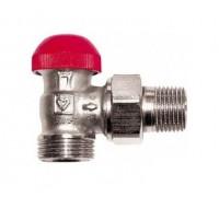 HERZ Термостатический клапан ГЕРЦ-TS-90-V угловой 1/2х3/4ЕК