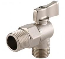 Itap 391 1/2х1/2 кран шаровой угловой для стиральных машин ITAP