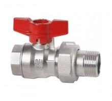 Cimberio Кран шаровой 346/16 1/2 серии Т16 полнопроходной с разъемным соединением PN80 BН