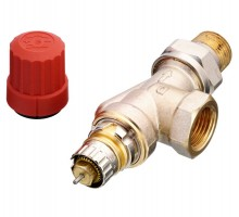 Клапан терморегулирующий Danfoss RA-N UK DN20 Вн/нар, д/двухтруб.системы, американка, угловой
