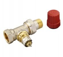 Клапан терморегулирующий Danfoss RA-N DN15 Вн/нар, д/двухтруб.системы, американка, прямой