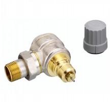 Клапан терморегулирующий Danfoss RA-G DN15 Вн/нар, д/однотруб.системы, американка, угловой