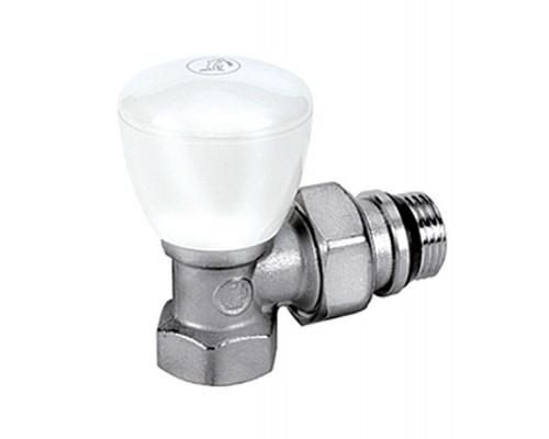 Клапан регулирующий Giacomini R5TG 3/4 Вн/нар, д/радиаторов, герм.прок, американка, угловой
