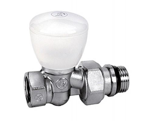 Клапан регулирующий Giacomini R6TG 3/4 Вн/нар, д/радиаторов, герм.прок, американка, прямой
