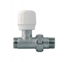 Вентиль регулирующий Itap 295, 1/2 Нар, д/металлопластиковых труб, американка, прямой