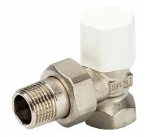 Вентиль регулирующий LUXOR TEKNA DS 22, 1/2 Вн/Н, д/стальных труб, американка, угловой