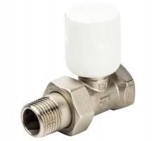 Вентиль регулирующий LUXOR EASY RD 101, 1/2 Вн/нар, д/стальных труб, американка, прямой