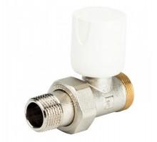 Вентиль регулирующий LUXOR EASY RD 111, 1/2 Нар резьба, д/пластиковых труб, американка, прямой