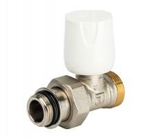 Вентиль регулирующий LUXOR EASY RD 118 (108, 105), 1/2 Нар, д/пластиковых труб, американка, прямой