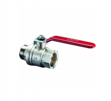 Кран шаровой Oventrop Optibаl 1 Вн/нар резьба, рычаг, прямой