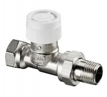 Вентиль терморегулирующий OVENTROP AV9, 1/2 Вн/Н, двухтруб.система, американка, прямой